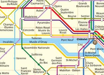 Gard Du Nord Paris Map.Getting Around In Paris Travel With Julie