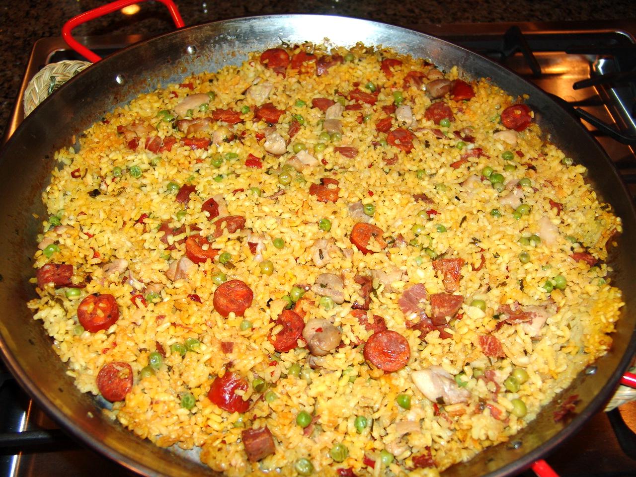 paella valenciana paella valenciana recipe paella valenciana paella ...